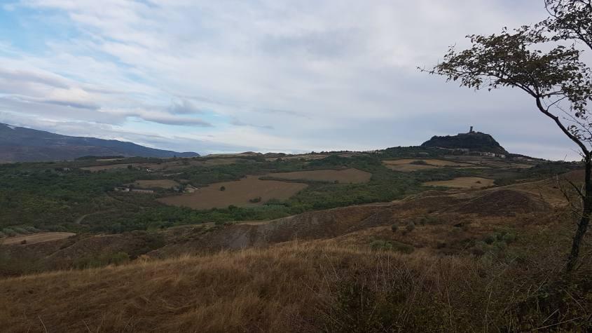 Paesaggi Via Francigena Radicofani - Acquapendente