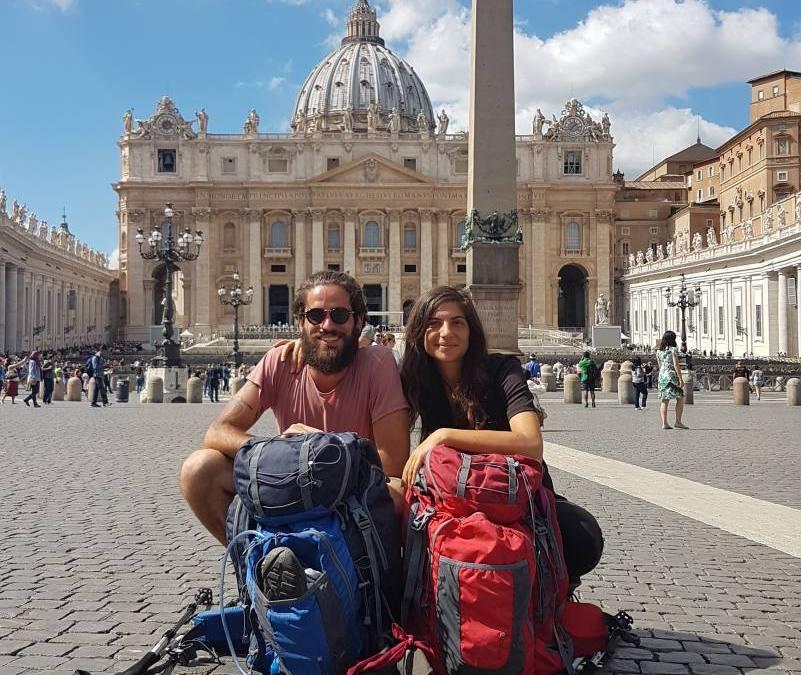 La Via Francigena volge al termine: LA GIUSTINIANA – ROMA
