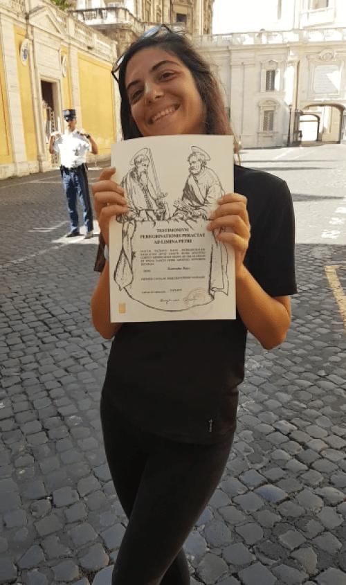 La consegna del Testimonium