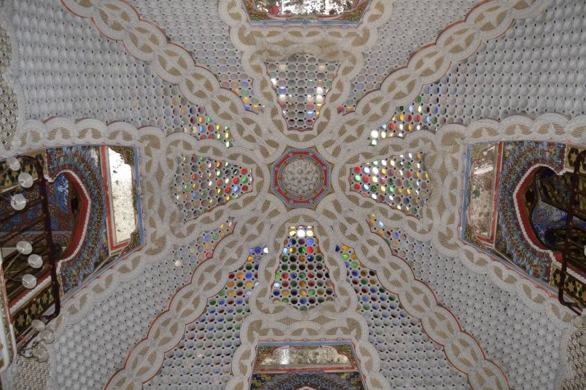 Soffitto Sala dei Gigli Castello di Sammezzano