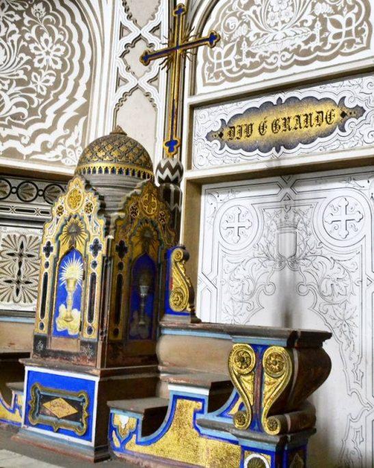 Cappella Castello di Sammezzano con DIo è grande