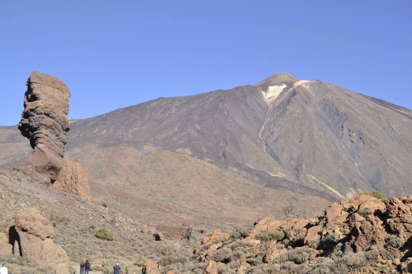 Vulcano Teide dentro il Parco Nazionale Teide