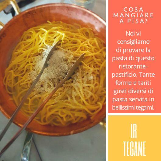 Pastasciutta al ristorante Ir Tegame di Pisa