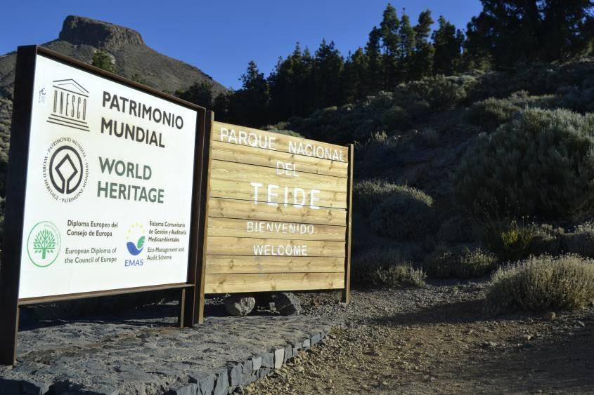 Parco del Teide Tenerife Patrimonio Unesco