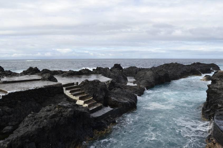 Piscina semi-naturale di Garachico a Tenerife
