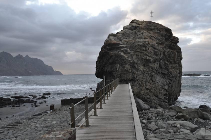 Pontile Playa de Benijo a Taganana di Tenerife