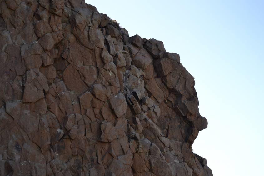 Roccia vulcanica percorso trekking Parco del Teide Tenerife