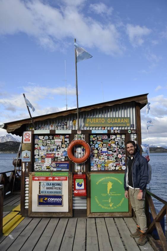 Ultimo Ufficio Postale Fine del Mondo a Ushuaia in Argentina