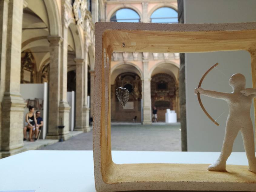 Corte interna del Palazzo Archiginnasio di Bologna