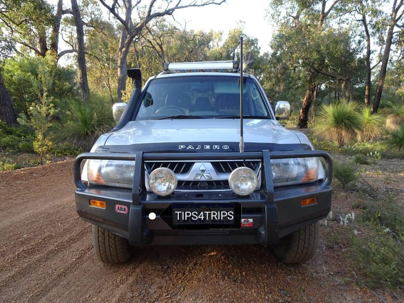 On the Road in Australia con un Mitsubishi Pajero