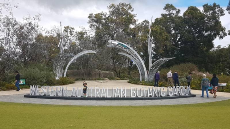Entrata Giardino Botanico del Kings Park di Perth