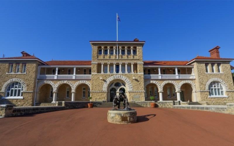 Il Perth Mint visto dall'esterno