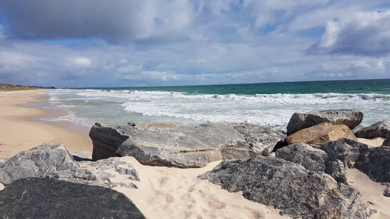 Spiaggia di Cottesloe a Perth