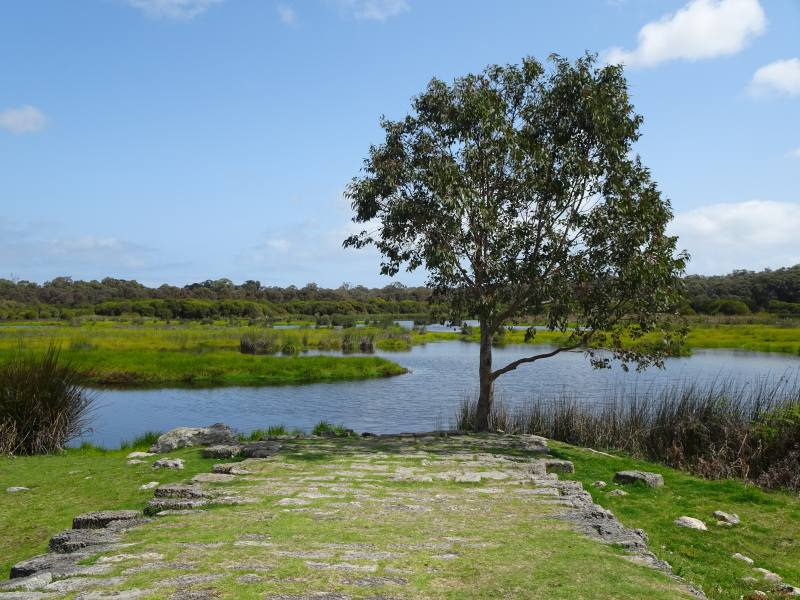 Loch McNess all'interno dello Yanchep National Park