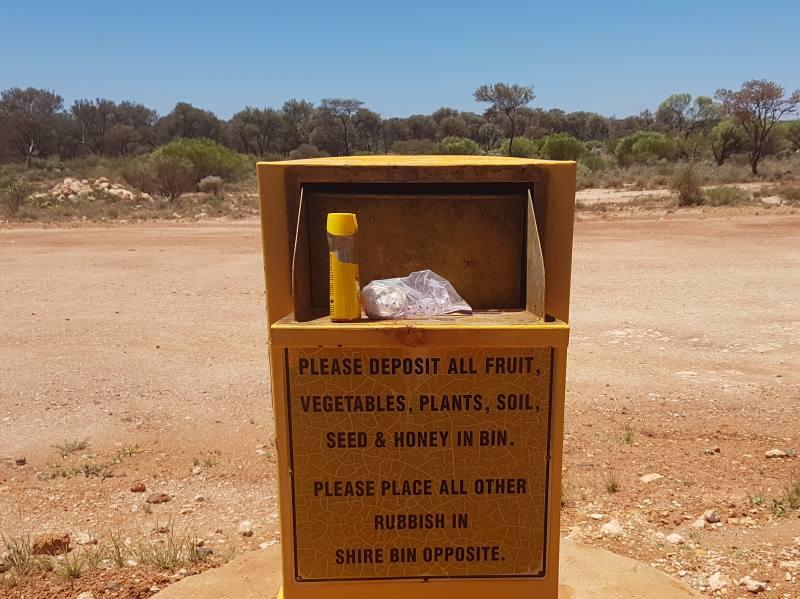 Bidoni di quarantena tra due Stati australiani