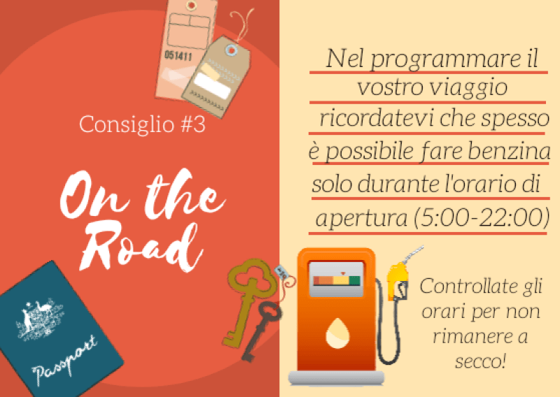 Consiglio #3 per l'On the Road in Australia