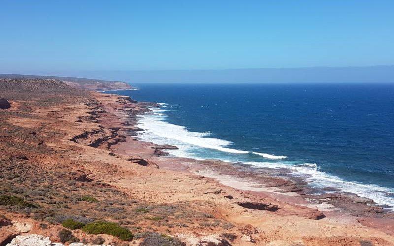 Punto panoramico Red Bluff dentro il Parco Nazionale Kalbarri in Western Australia