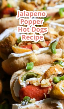 Jalapeno Popper Hot Dogs – Recipe