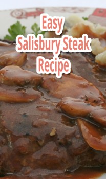 Easy Salisbury Steak – Recipe
