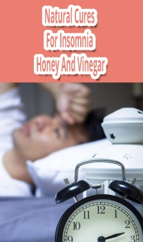 Natural Cures For Insomnia - Honey And Vinegar