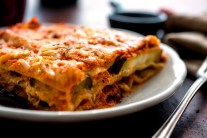 Roasted Eggplant Lasagna - Recipe