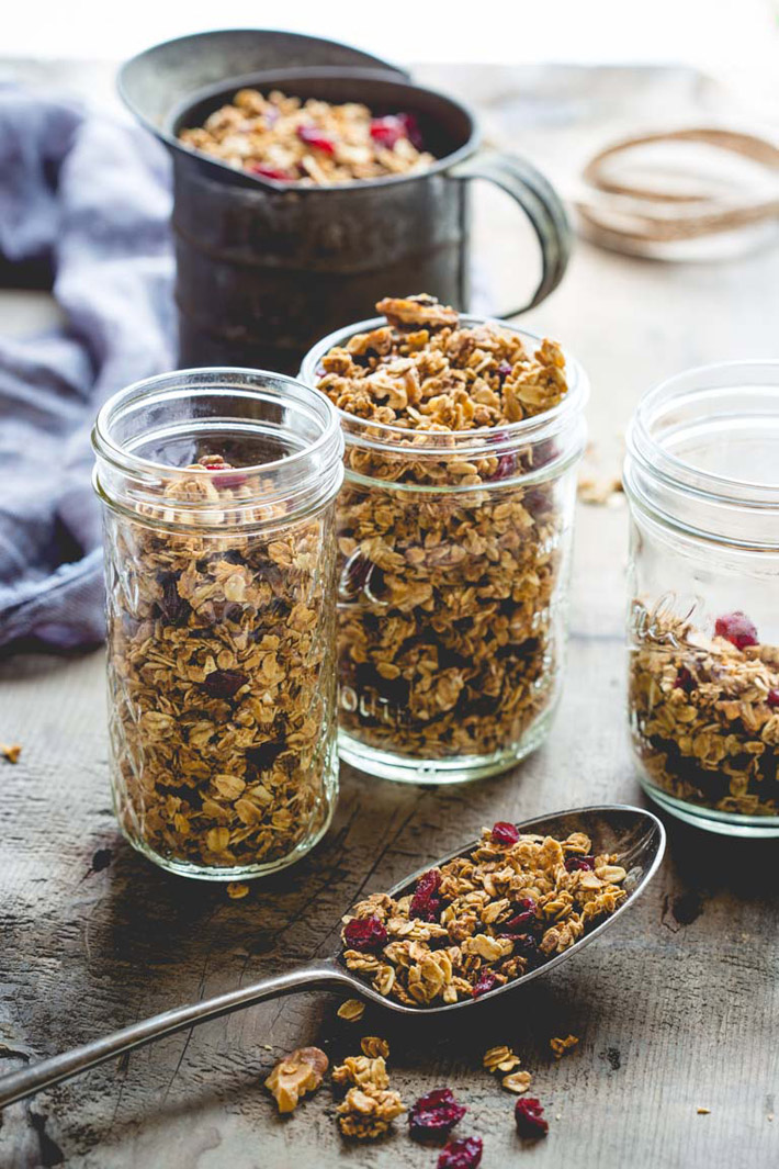 Maple – Walnut Granola – Recipe