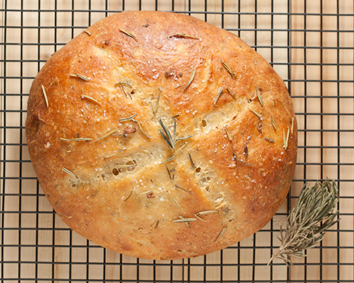 Rosemary And Garlic Coconut Flour Bread – Recipe