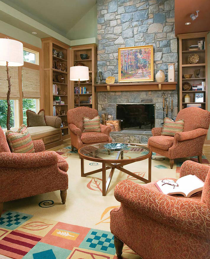 Tips For Make A Living Room Look Larger