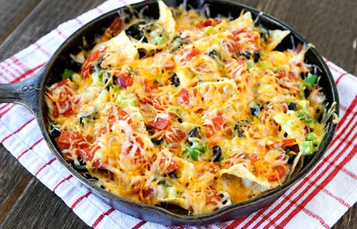 Campfire Pizza Nachos – Recipe