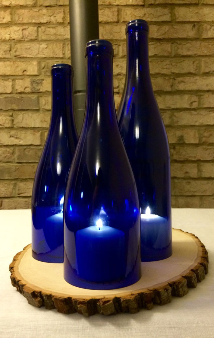 Decoration Ideas With Wine Bottle