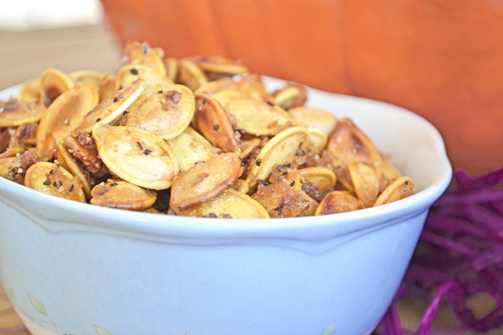 Sweet And Salty Roasted Pumpkin Seeds – Recipe