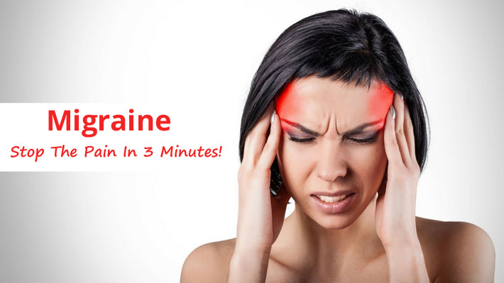 Migraine – Stop The Pain In 3 Minutes!