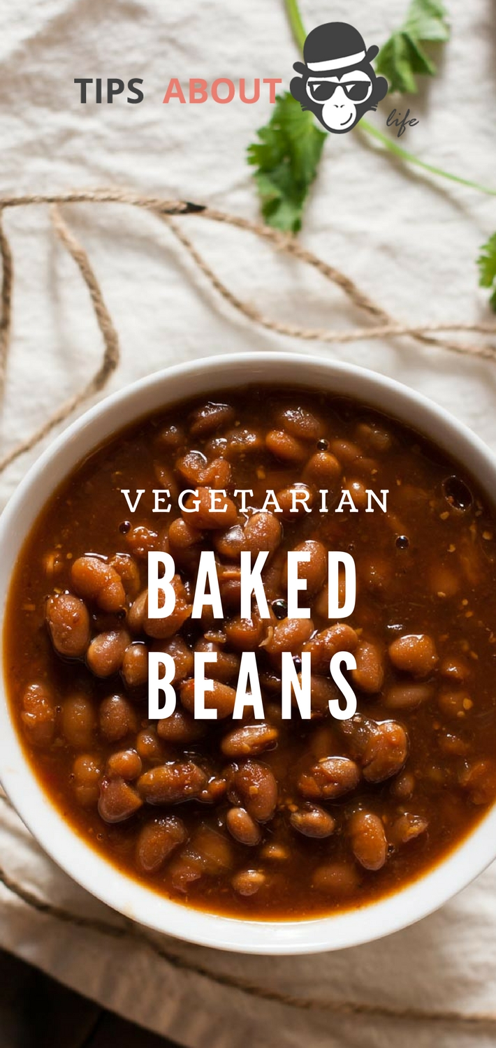 Vegetarian Baked Beans - Slow Cooker Recipe