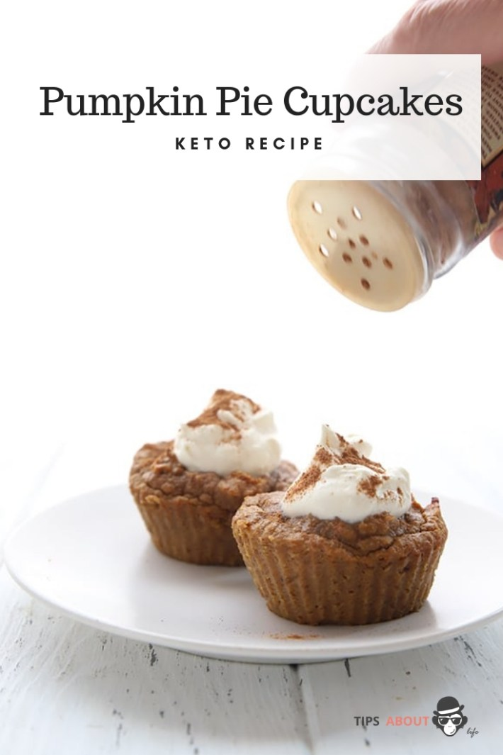 Keto Pumpkin Pie Cupcakes Recipe