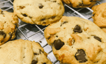 Bacon Chocolate Chip Keto Cookies