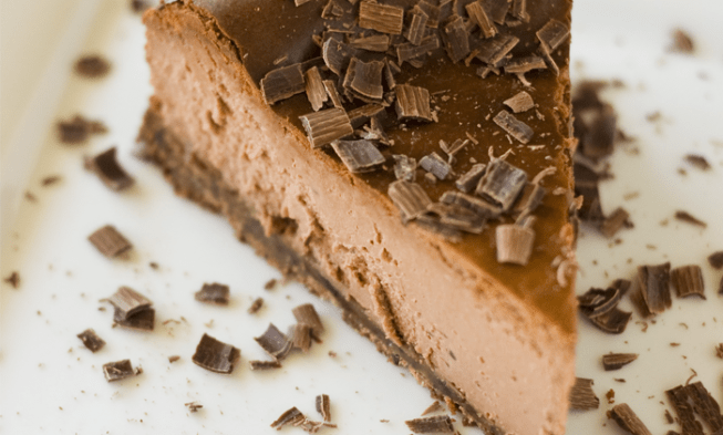 Coffee Chocolate Mocha Keto Cheesecake