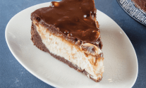 No-Bake Chocolate Peanut Butter Pie