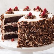 Keto Black Forest Chocolate Cake