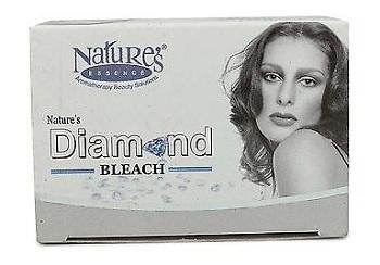 diamond bleach cream nature's essence