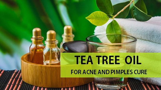 how to use tea tree oil for pimple cure and acne marks