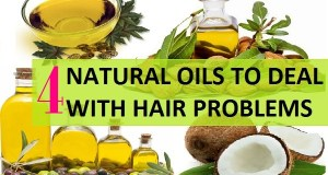 4 Natural Hair Oil to deal with Hair Problems