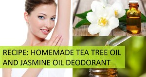 Homemade Deodorant Recipe and Benefits