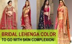 Choosing the Best Bridal Lehenga Color as per the Complexion