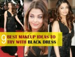 How to Create the Perfect Makeup for Black Dress