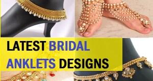 latest bridal anklet designs