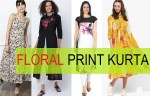 15 Latest Floral Printed Kurtas for Women