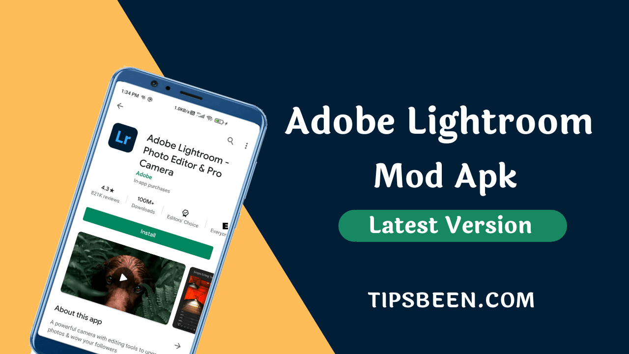 Adobe Lightroom Mod Apk v6.0 latest version download 2020