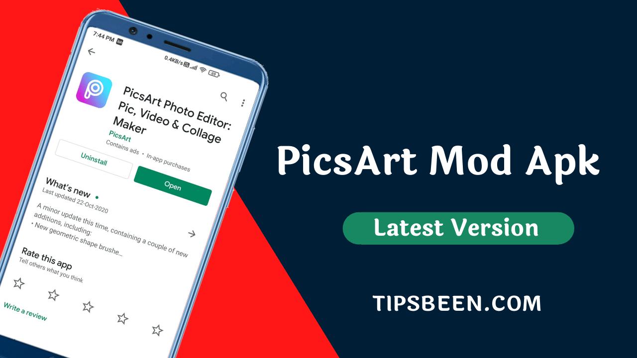 PicsArt Mod Apk v15.8.0 Free Download 2020