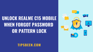 How to Unlock Realme c15 Forgot Password