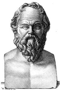 Socrates Bust Sketch